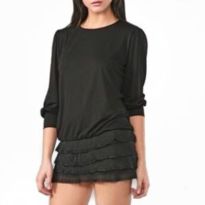 T-BAGS Misa Ruffle Skirt Dress